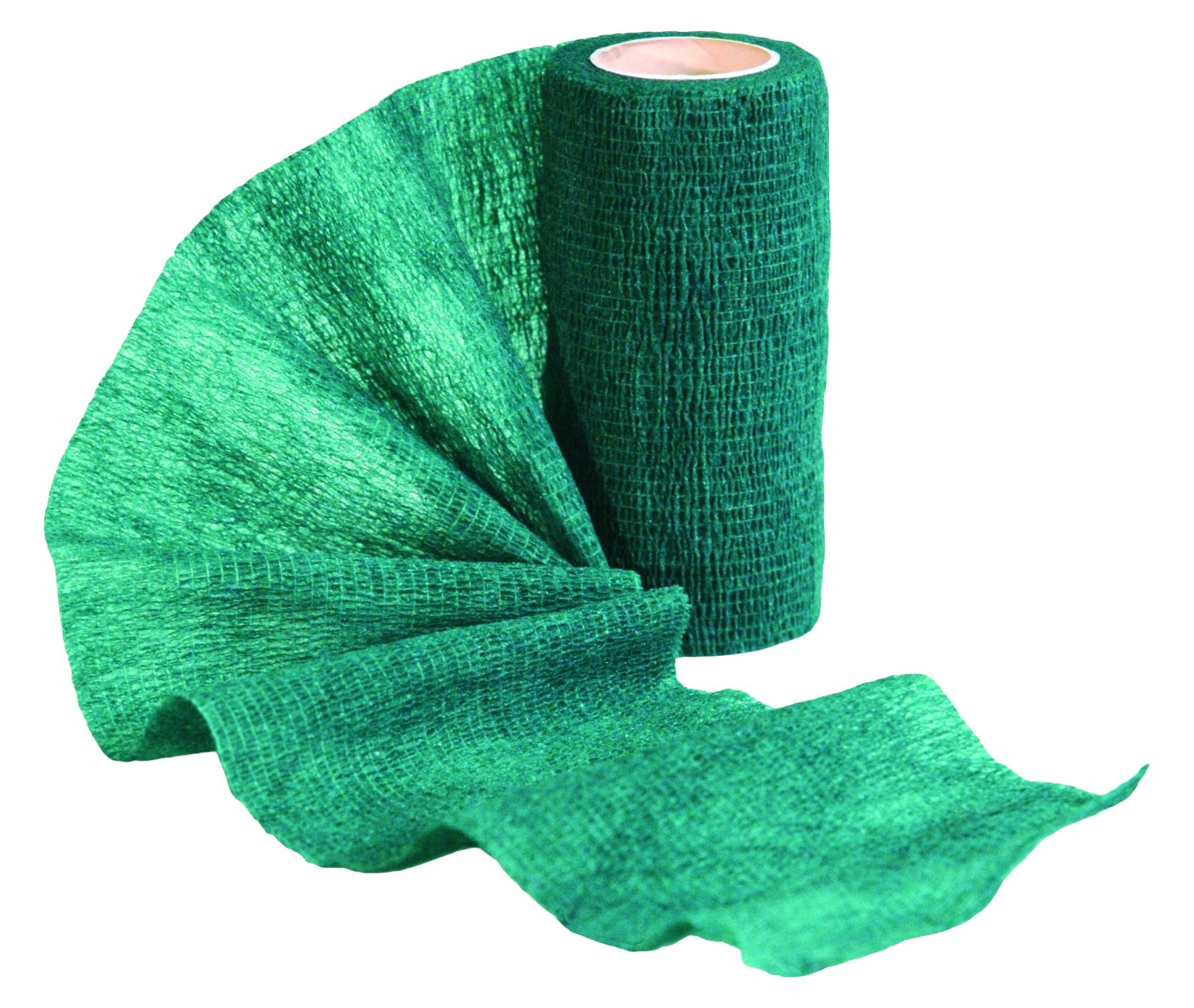 SUREFLEXX, DARK GREEN 2'' X 5 YARD ROLL (BOX OF 36), VET WRAP, SELF-ADHERENT COHESIVE GENERAL PURPOSE WRAP.