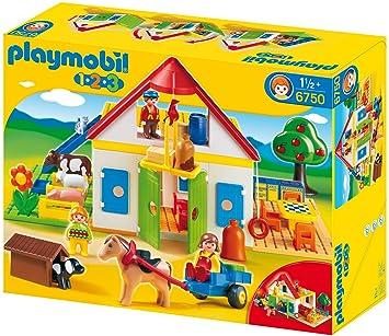 Playmobil 6750 Mein Großer Bauernhof Amazonde Spielzeug