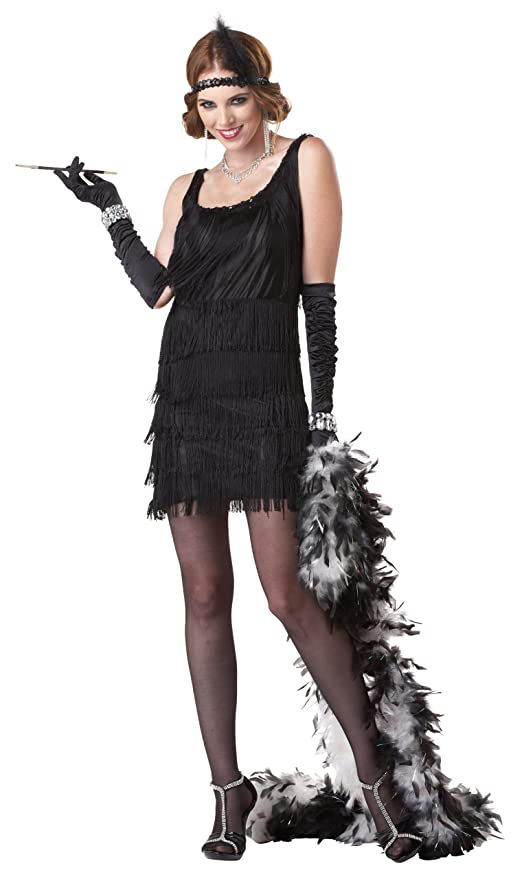 Vintage Inspired Halloween Costumes California Costumes Womens Fashion Flapper Costume $49.99 AT vintagedancer.com
