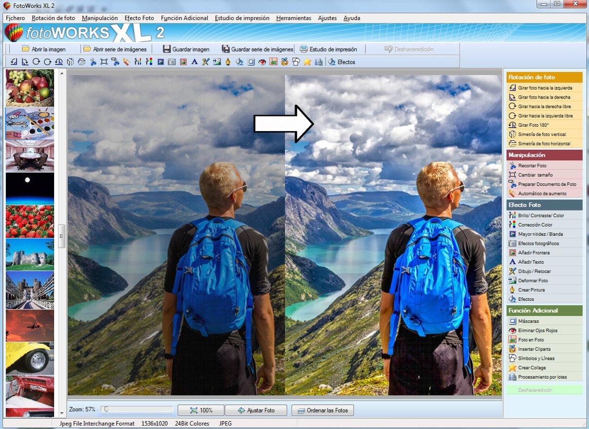 FotoWorks XL (2018) - Editor de Fotos, Software Fotografia Español ...