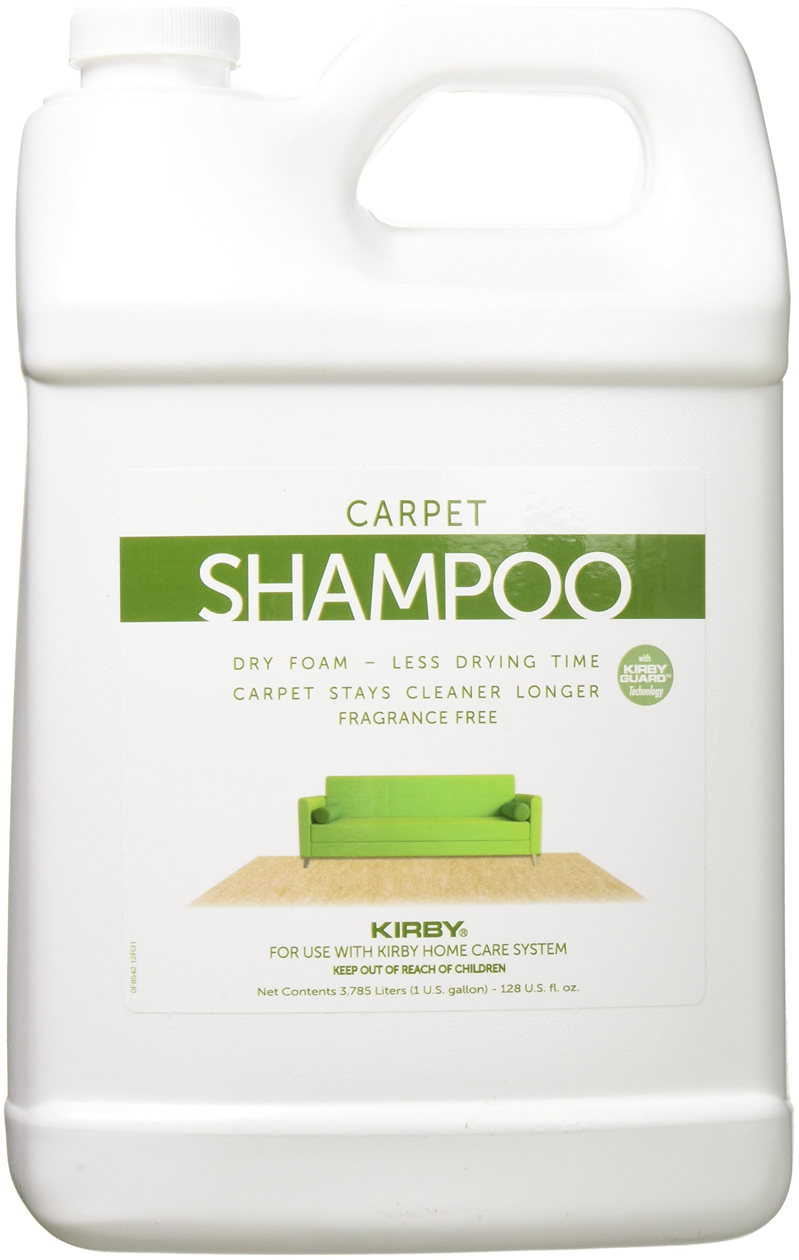 Kirby 1gal.Unscented Carpet Shampoo (4 pack)