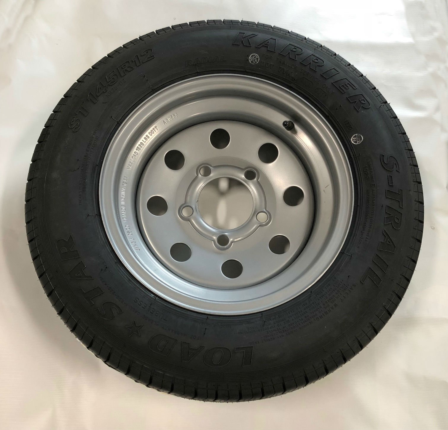ST145/R12 Triton 08875 Class E Trailer Tire by Triton