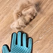 Sunny&Lucky Pet Grooming Glove, [Upgraded Version] OMorc