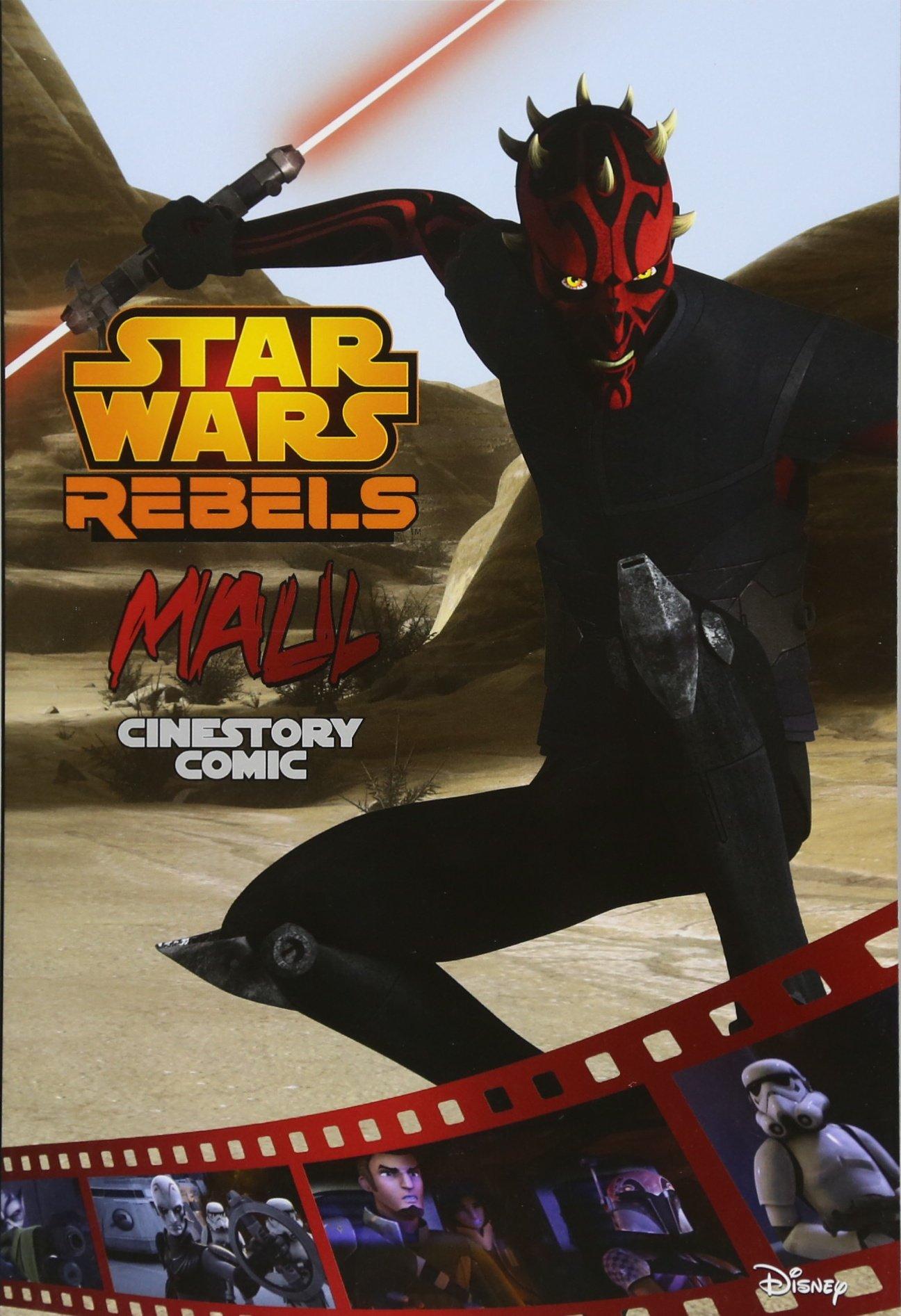 Download Maul: A Star Wars Rebels Cinestory Comic PDF