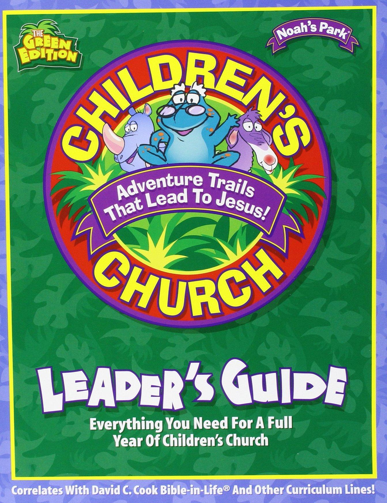 Download Noah's Park Children's Church Kit - Green Edition (Adventure Trails That Lead to Jesus! Noah's Park Children's) pdf epub