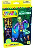 The Orb Factory Sticky Mosaics Sparkling Monsters Kit