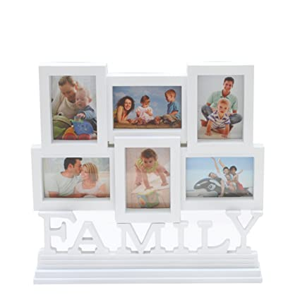 Buy Bazaar Pirates Table Collage Family Photo Frame Timeline 6 ...
