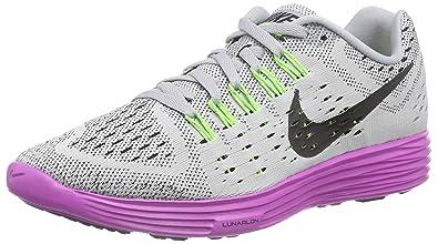 Nike 705462, Chaussures de Running Femme - Gris - Grau (Wolf Grey/Black-Fuchsia Flash), 39 EU