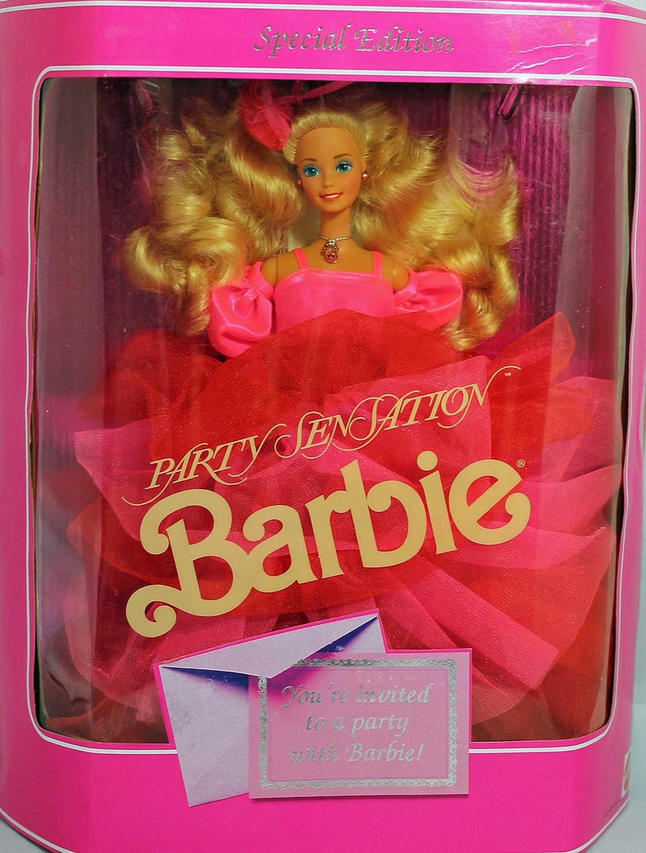 Amazon.es: Barbie 1990 Party Sensation: Juguetes y juegos