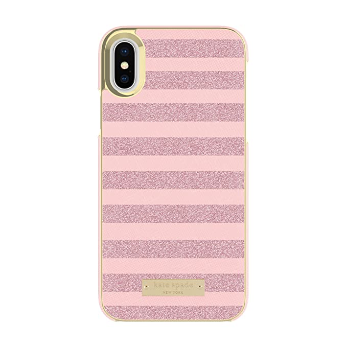 b51f1b792 Image Unavailable. Image not available for. Color: kate spade new york Wrap  Case for iPhone X ...