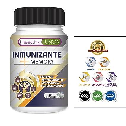 El más Potente y Completo Multivitamínico con Vitaminas C, E, B3, B5,
