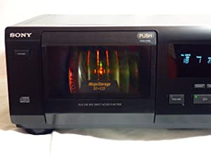 SONY CDP-CX50 50 Compact Disc CD Player