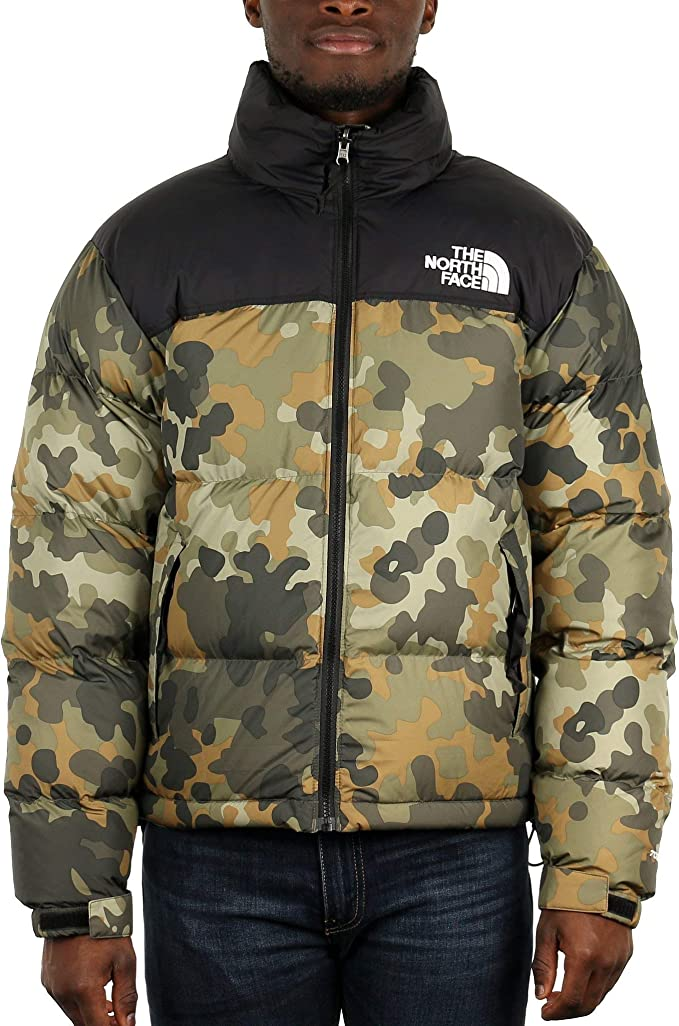 Giacca uomo the north face 1996 nuptse camouflage T93MIX5XP