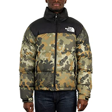 e4fd6267b2 THE NORTH FACE 1996 Retro SSNL Daunenjacke Taupe Green: Amazon.de ...