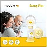 Medela Swing Flex sacaleches eléctrico simple, extractor de leche con embudo Flex (talla S y M incluidas) que se adapta…