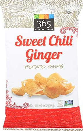365 Everyday Value, Sweet Chili Ginger Potato Chips, 10 Oz by 365 Everyday Value