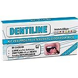 Dentiline - KIT PER PRONTO INTERVENTO ODONTOIATRICO DI AUTOMEDICAZIONE, Aiuta a superare l'emergenza dentaria in pochi minuti