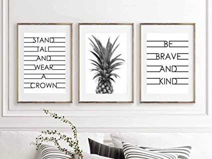 Amazoncom Modern Home Pineapple Inspirational And Motivational