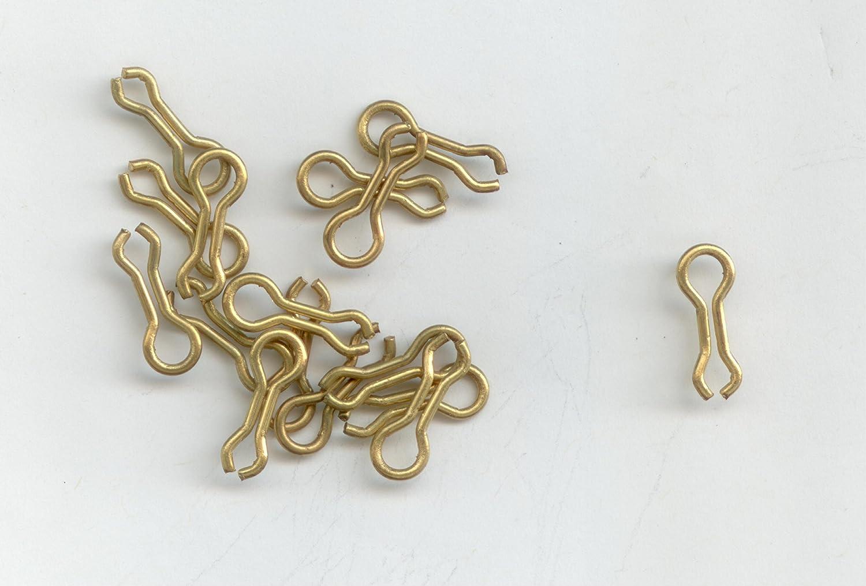 # 1真鍮SinkerワイヤEye For The do-it Molds 1000 per pack by S & J 'sタックルボックス   B01229YSI6