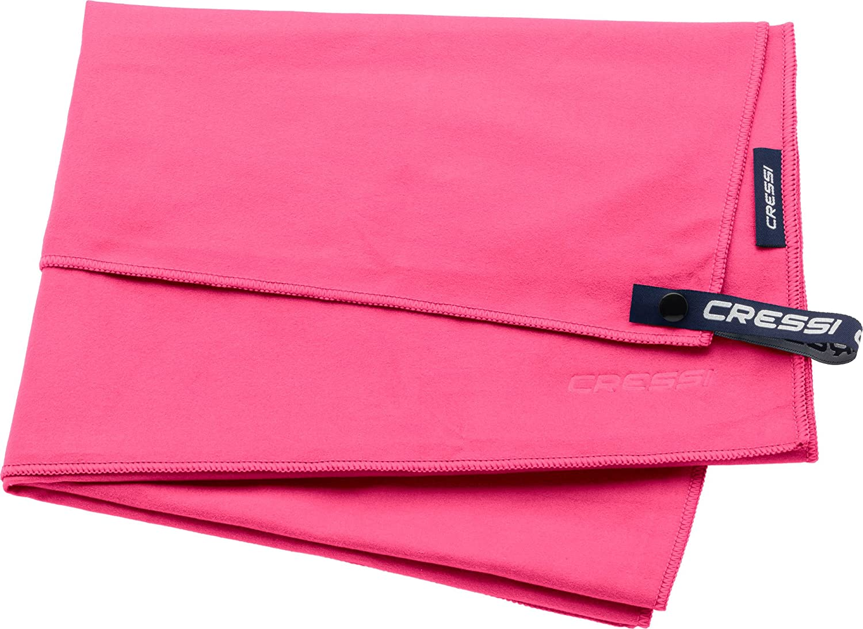 Bleu // Vert Serviette de Sport en Microfibre Premium Cressi Fast Drying 90 x 180 cm