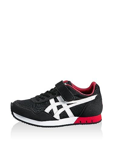 Asics, Herren Sneaker , schwarz - schwarz - Größe: 32.5