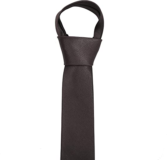 The Tie Co/™ Childrens Pre-tied /& Adjustable Satin Solid Colour Classic Plain Bow Tie Kids