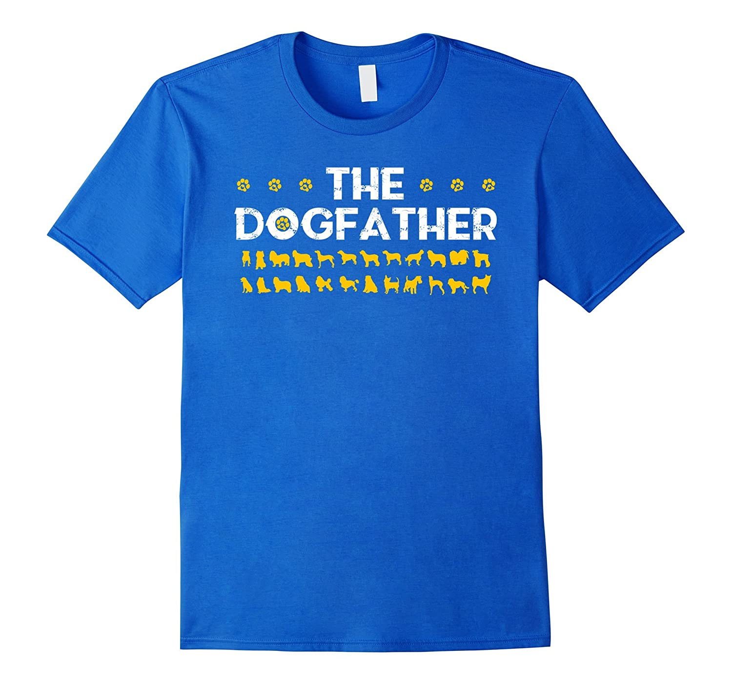Mens The Dogfather t-shirt great gift Funny dogfather