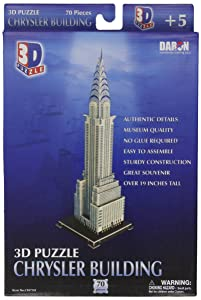 Daron Chrysler Building 3D Puzzle 70-Pieces