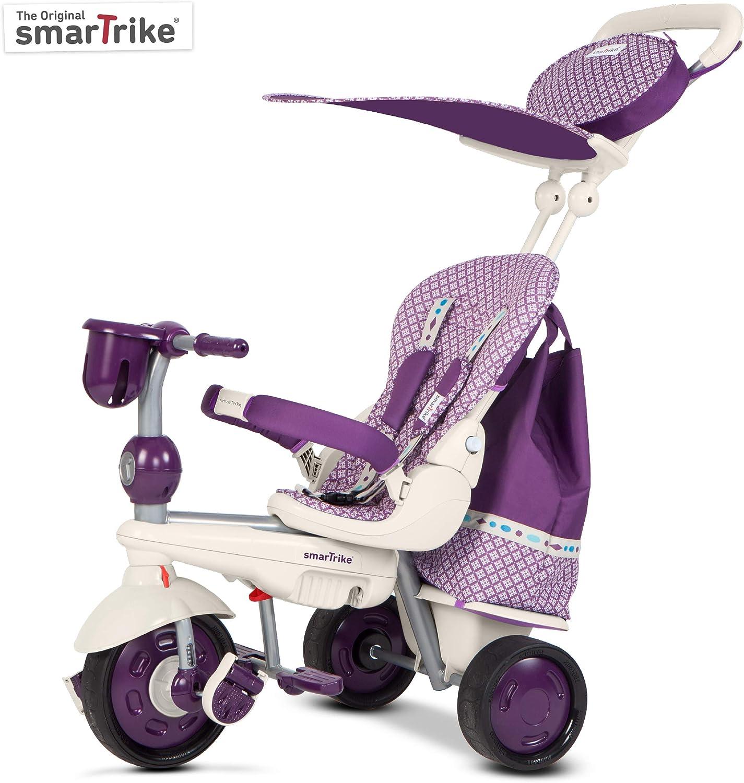SMARTRIKE smartrikeâ Explorer 5en 1–Triciclo, Color Morado