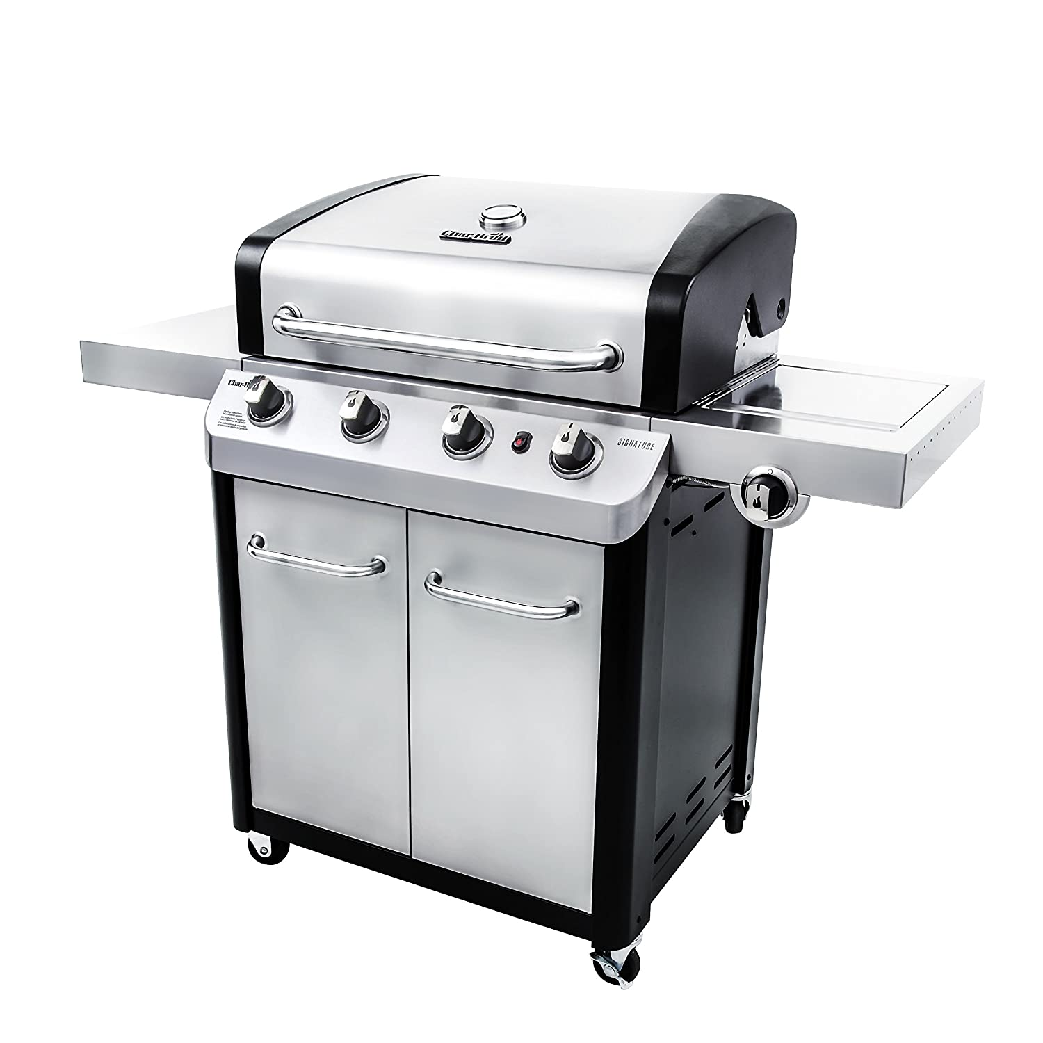 amazon com char broil signature 530 4 burner cabinet gas grill