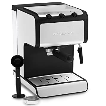 Andrew James Espresso Machine Barista Coffee Machine With 15 Bar