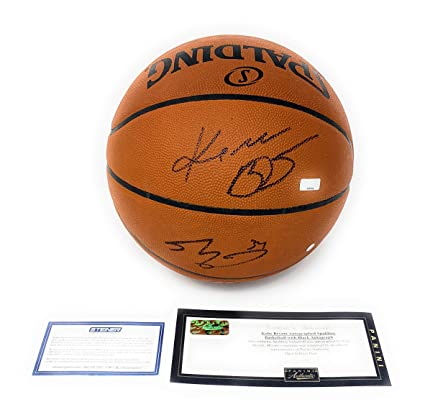 Kobe Bryant Shaquille O Neal Los Angeles Lakers Dual Signed ... 0ec64ce6c