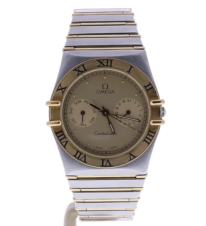 Omega Constellation swiss-quartz - Reloj 1448/431 (Certificado) de segunda mano: Omega: Amazon.es: Relojes