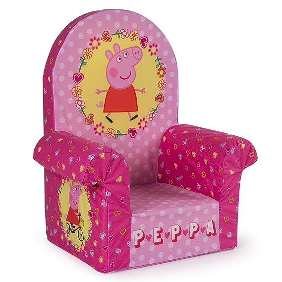 Amazon.com: Muebles Marshmallow, silla de respaldo alto de ...