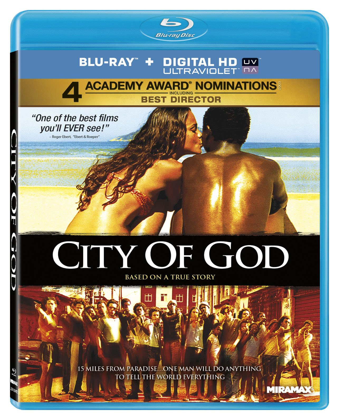 Blu-ray : City Of God (Digital Theater System, AC-3, , Widescreen)
