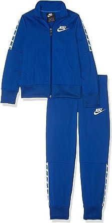 Nike G NSW TRK Suit Tricot Chándal, Niñas, Indigo Force/White, M ...