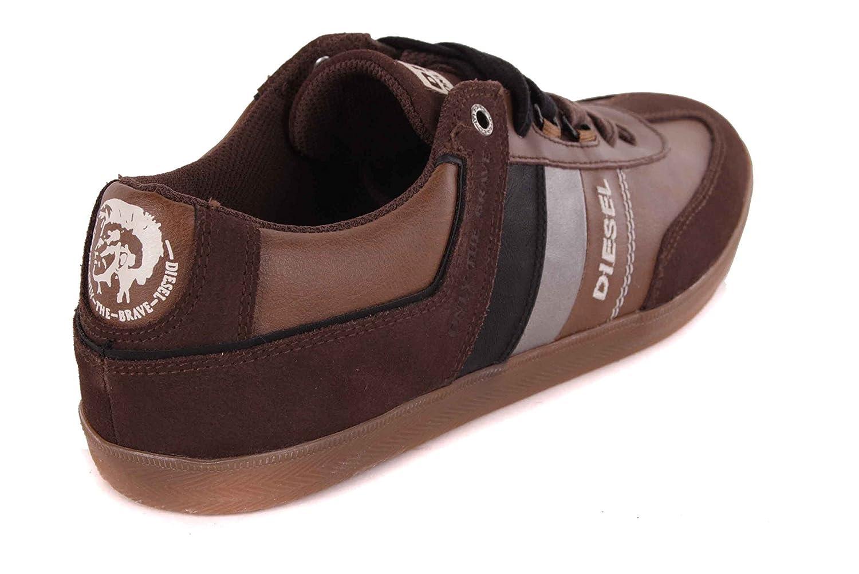 Diesel Sneaker uomo laccio scarpe, scarpe, marrone #25, Marrone (marrone), 40