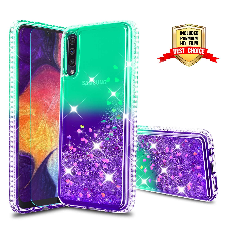 Funda + Vidrio Para Samsung Galaxy A50 Glitter Atump [7tp82zzd]