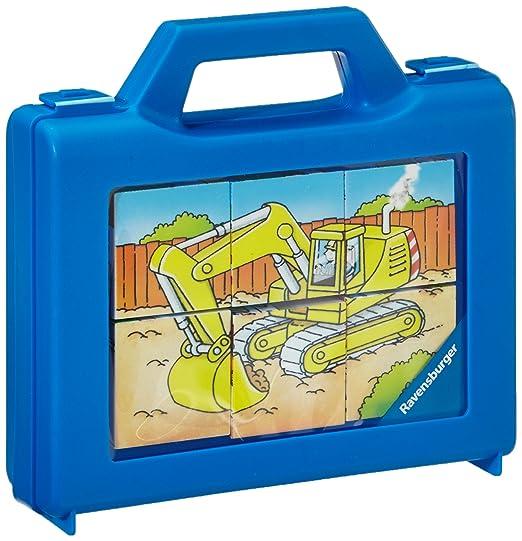 8 opinioni per Ravensburger 07470- Veicoli in funzione, Puzzle con cubi, 6 pezzi