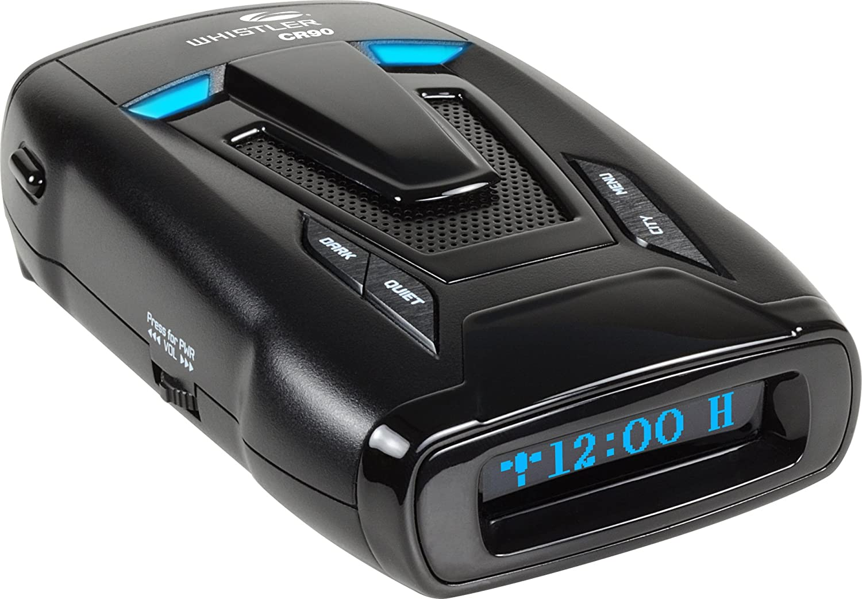 Whistler CR90 High Performance Laser Radar Detector with TFSR