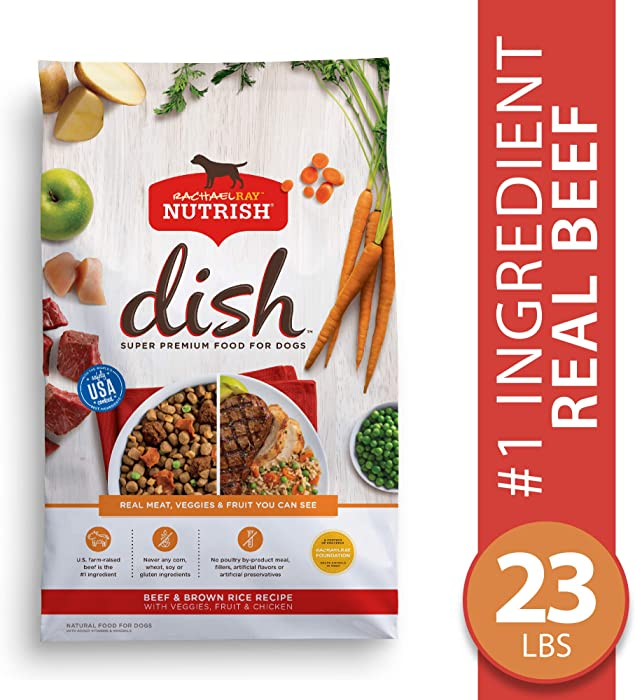 Rachael Ray Nutrish Dish Super Premium Dry Dog Food