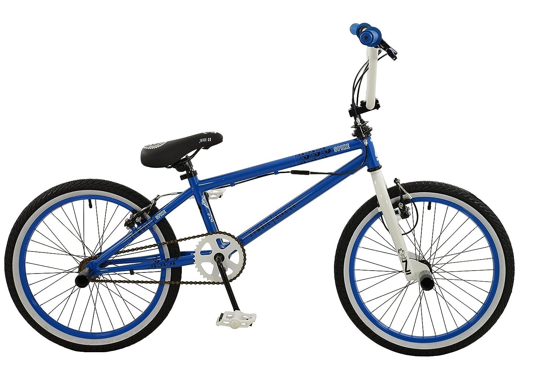 Zombie Boy Spike Bike, Blue/White/Black, Size 20 Falcon Z2016203