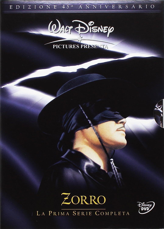 Zorro - La prima serie completa edizione 45° anniversario Italia DVD: Amazon.es: vari, vari, vari: Cine y Series TV