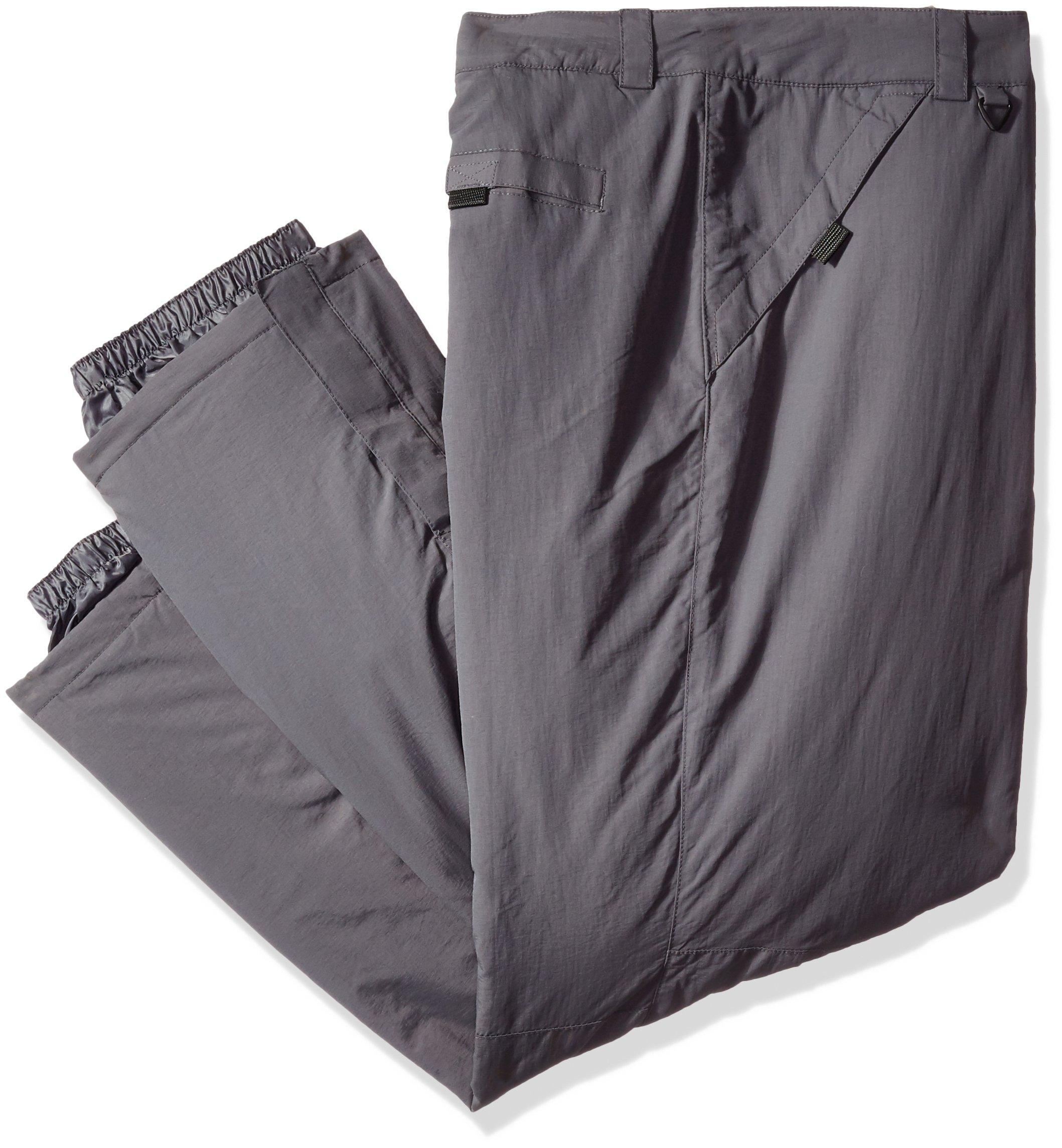 White Sierra Men's Big Toboggan Insulated Pants, Asphalt, 2X