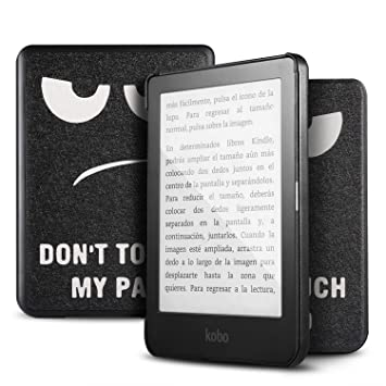 IVSO Kobo Clara HD Funda Case Cover, Slim Smart PU Cover Case ...