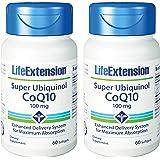 Super Ubiquinol CoQ10 100 mg, 60 softgels-Pack-2