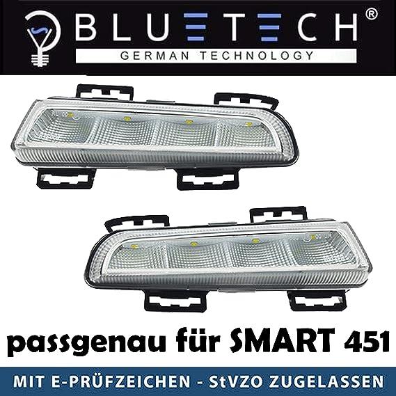 Led Tagfahrlicht 451 Fortwo 2012 2014 Tfl E Prüfzeichen Auto