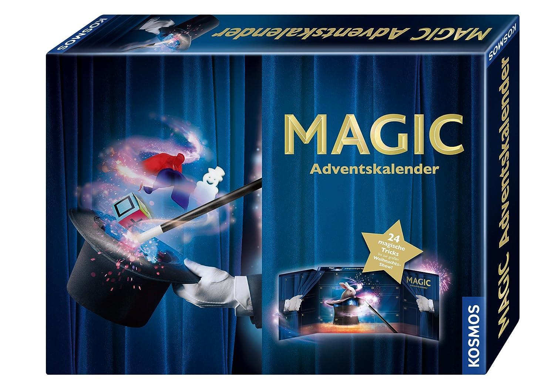 Kosmos Zauberei 698850 Magic Adventskalender 2018 Weihnachten empfohlenes Alter: ab 8 Jahre Kalender / Adventskalender Weihnachtskalender