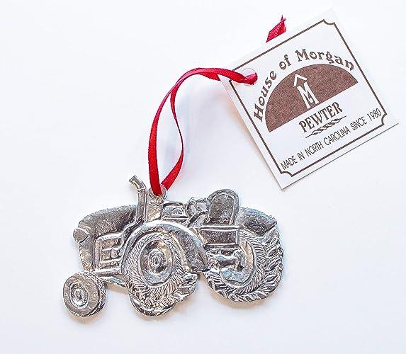 amazon com farm tractor ornament pewter 572 handmade