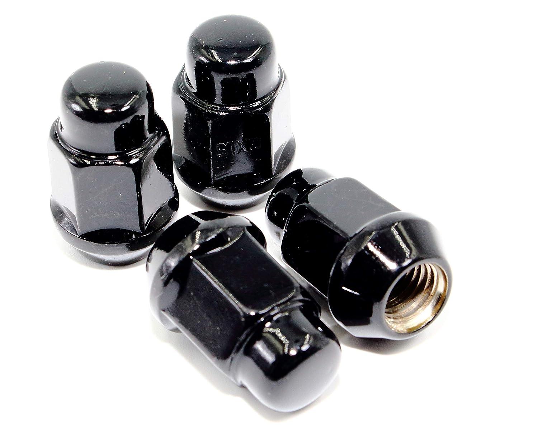 Set of 20 Veritek 14x1.5mm Black Bulge Acorn 3//4 Hex Lug Nuts 1.4 Conical Seat for Aftermarket Custom Wheels